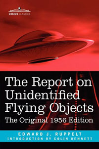 The Report on Unidentified Flying Objects -  book cover