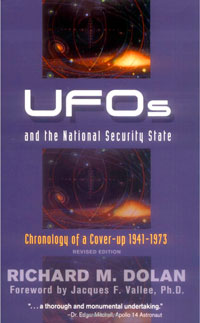 UFOs and the National Security State - book cover