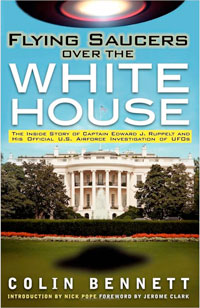Flying Saucers Over the White House - book cover