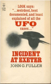 Incident at Exeter: book cover