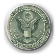 American Eagle button