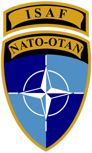 ISAF NATO badge