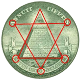 Freemason's on currency