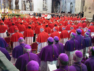 Consistory ceremony at the Vatican