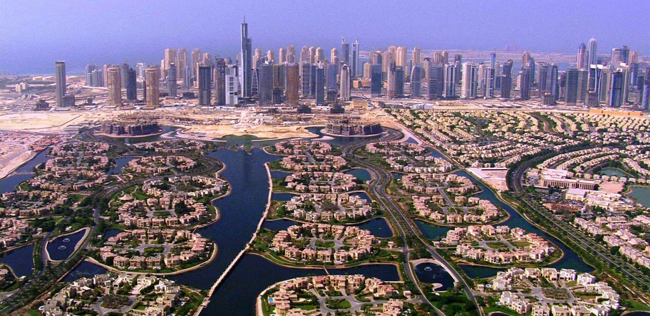 Dubai's Desert Palm Island housing