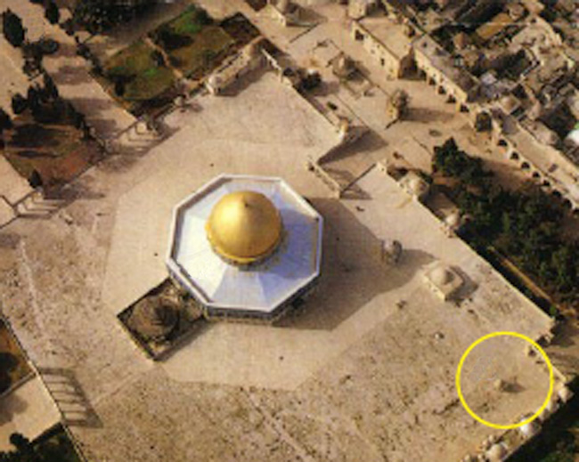 Temple Mount aerial