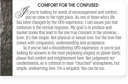 Comfort for the confused