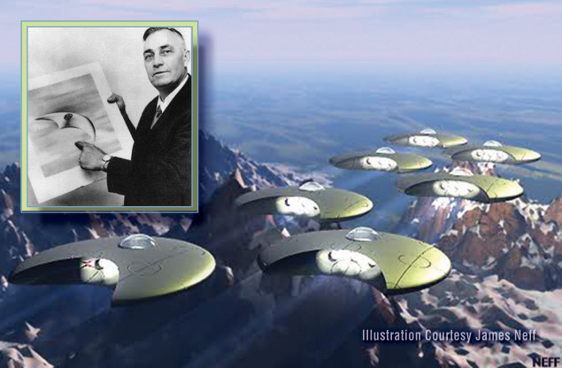 Ranier saucers arnold
